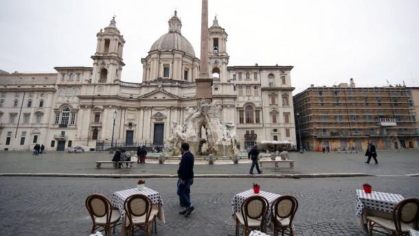 Weite Teile Italiens bleiben auch über Ostern zu