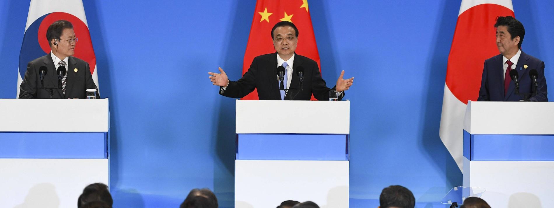 China, Südkorea und Japan fordern politische Lösung