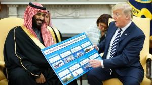 Amerika kann Waffen an Saudis liefern