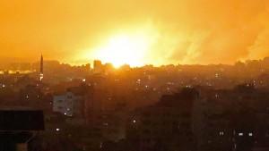 Ziel waren die Tunnel der Hamas