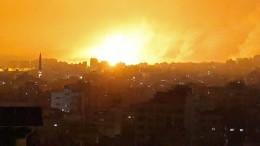 Ziel waren die Tunnels der Hamas
