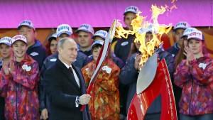 Es ist kein Tauwetter – es sind die Olympischen Spiele