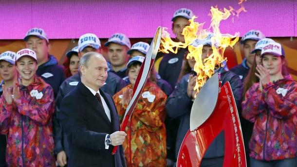 """""""Es ist kein Tauwetter – es sind die Olympischen Spiele"""""""