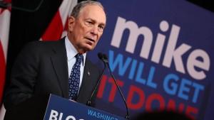Multimilliardär Bloomberg fordert höhere Steuern für Amerikas Reiche