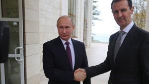 Putin gratuliert Assad zu Erfolg