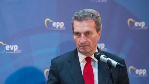 Oettinger dämpft Erwartungen an EU-Gipfel