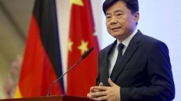 Chinas Botschafter zu Gespräch im Auswärtigen Amt