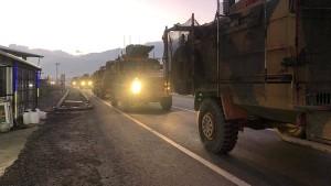 Türkei verstärkt Truppen an Grenze zu Syrien