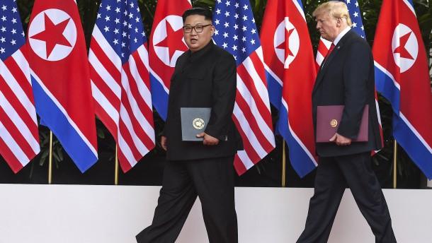 Mit herzlichen Grüßen an den Vorsitzenden Kim