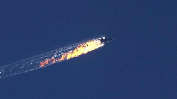Russisches Flugzeug wohl über Syrien abgeschossen