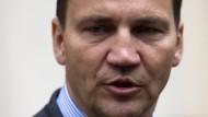 Höhere Ambitionen: der polnische Außenminister Radoslaw Sikorski