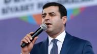 Soll aus dem Gefängnis freikommen: Der türkische Kurdenpolitiker Selahattin Demirtas