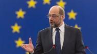 Fünf Jahre lang war Martin Schulz Präsident des Europäischen Parlaments.