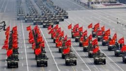 Chinas militärische Aufholjagd