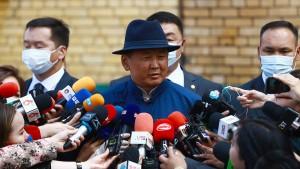 Regierungspartei gewinnt Wahl in Mongolei