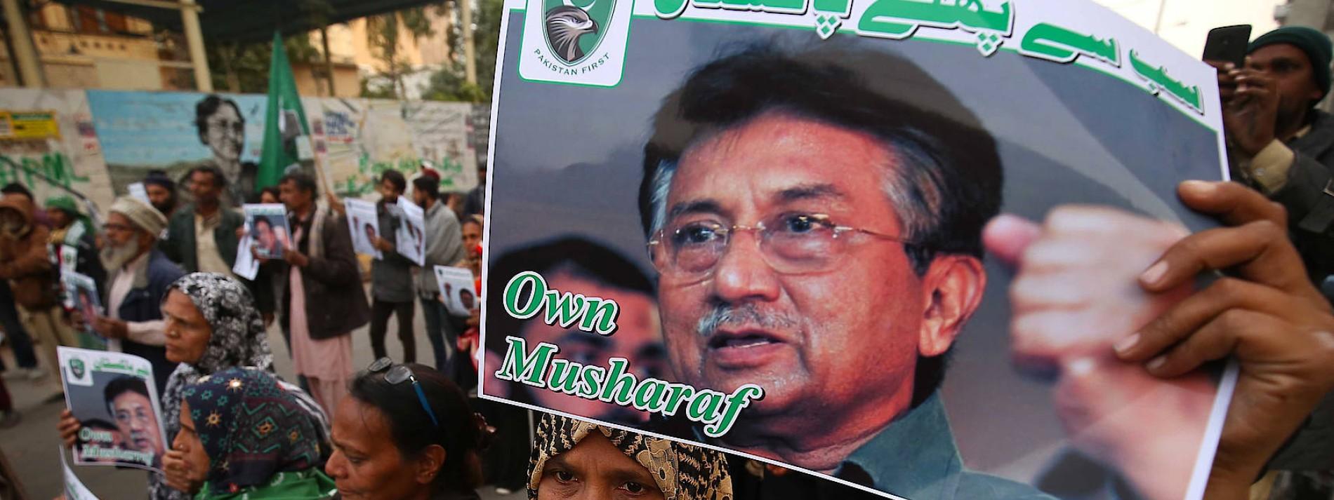 Gericht hebt Todesurteil gegen Musharraf auf