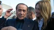 Italiens ehemaliger Chef: Silvio Berlusconi macht sich Sorgen um Europa
