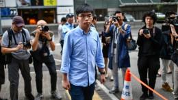 Aktivist Joshua Wong wieder frei