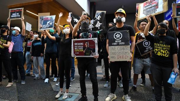 Australien beendet Auslieferungen nach Hongkong