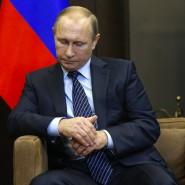 """""""Dolchstoß in den Rücken"""": Putin nach dem Treffen mit dem jordanischen König Abdullah II. in Sotschi"""