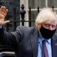 Boris Johnson am Mittwoch in London