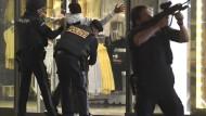 Polizeieinsatz nach dem Anschlag am 2. November in Wien