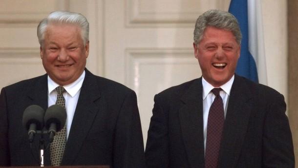 Bill umarmte Boris