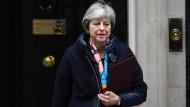 Spiel der Mächte: Die britische Premierministerin Theresa May.