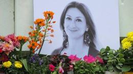 Vorwürfe gegen frühere maltesische Regierung im Fall Caruana Galizia