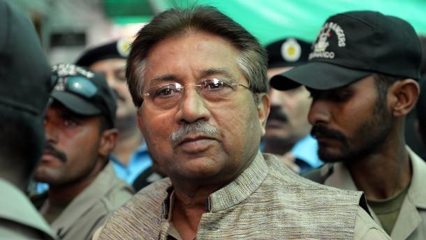 Früherer Machthaber Musharraf zum Tode verurteilt