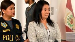 Peruanische Oppositionsführerin Fujimori festgenommen