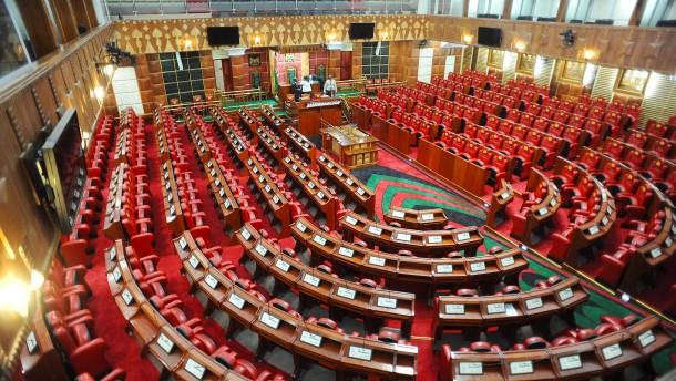 Im kenianischen Parlament fehlt eine Frau