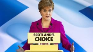Nicola Sturgeon will zweites Schottland-Referendum