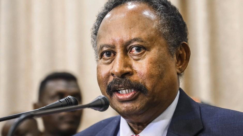 Abdalla Hamdok im August 2019 in Khartum