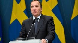 Misstrauensantrag gegen Schwedens Regierung