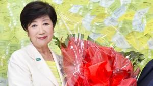 Zweite Amtszeit für Abe-Rivalin