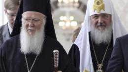 Russische Kirche bricht mit Konstantinopel