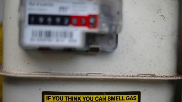 Die Furcht der Briten vor der Gasrechnung