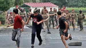 """Militär spricht von """"übermäßiger Gewalt"""""""