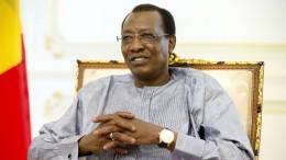 Staatschef des Tschad bei Kampfhandlungen umgekommen