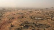 Die Stadt Djibo in Burkina Faso. Sie ist eines der Zentren islamistischer Gewalt in dem westafrikanischen Land