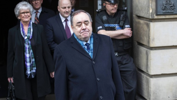 Schottlands früherer Regierungschef freigesprochen
