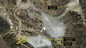 Nordkorea baut Atomtestgelände wohl ab