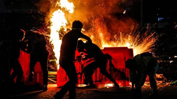 Gewalt und Gegengewalt in Kolumbien