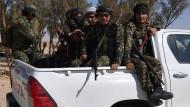 Afghanische Milizen: Trainingslager Syrien