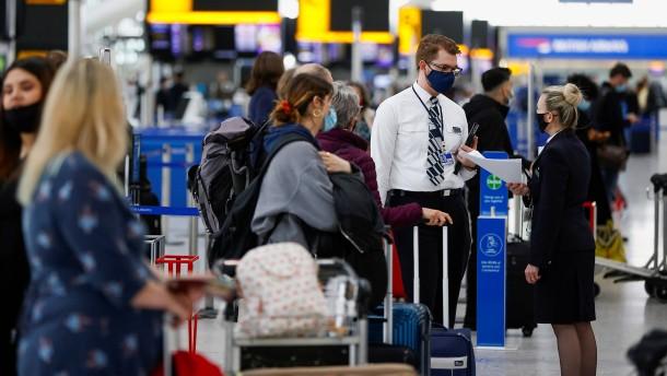 Verwirrung über britische Reisebestimmungen