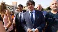 Nach Freilassung: Katalanischer Separatist Puigdemont verlässt Sardinien