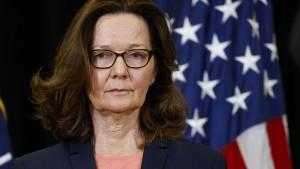 CIA-Direktorin soll Mord-Aufnahme gehört haben