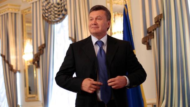 Knastväterchen Janukowitsch