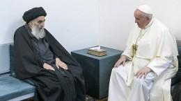 Der Papst und der Großajatollah hinter verschlossenen Türen